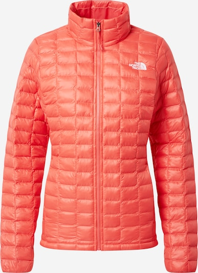 THE NORTH FACE Veste outdoor en rouge orangé, Vue avec produit