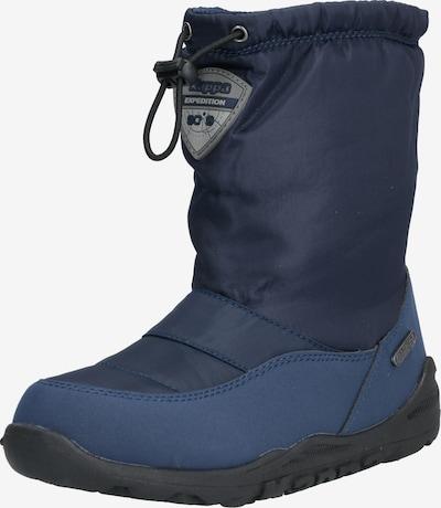 KAPPA Bottes de neige 'WEAM TEX' en bleu marine / noir, Vue avec produit