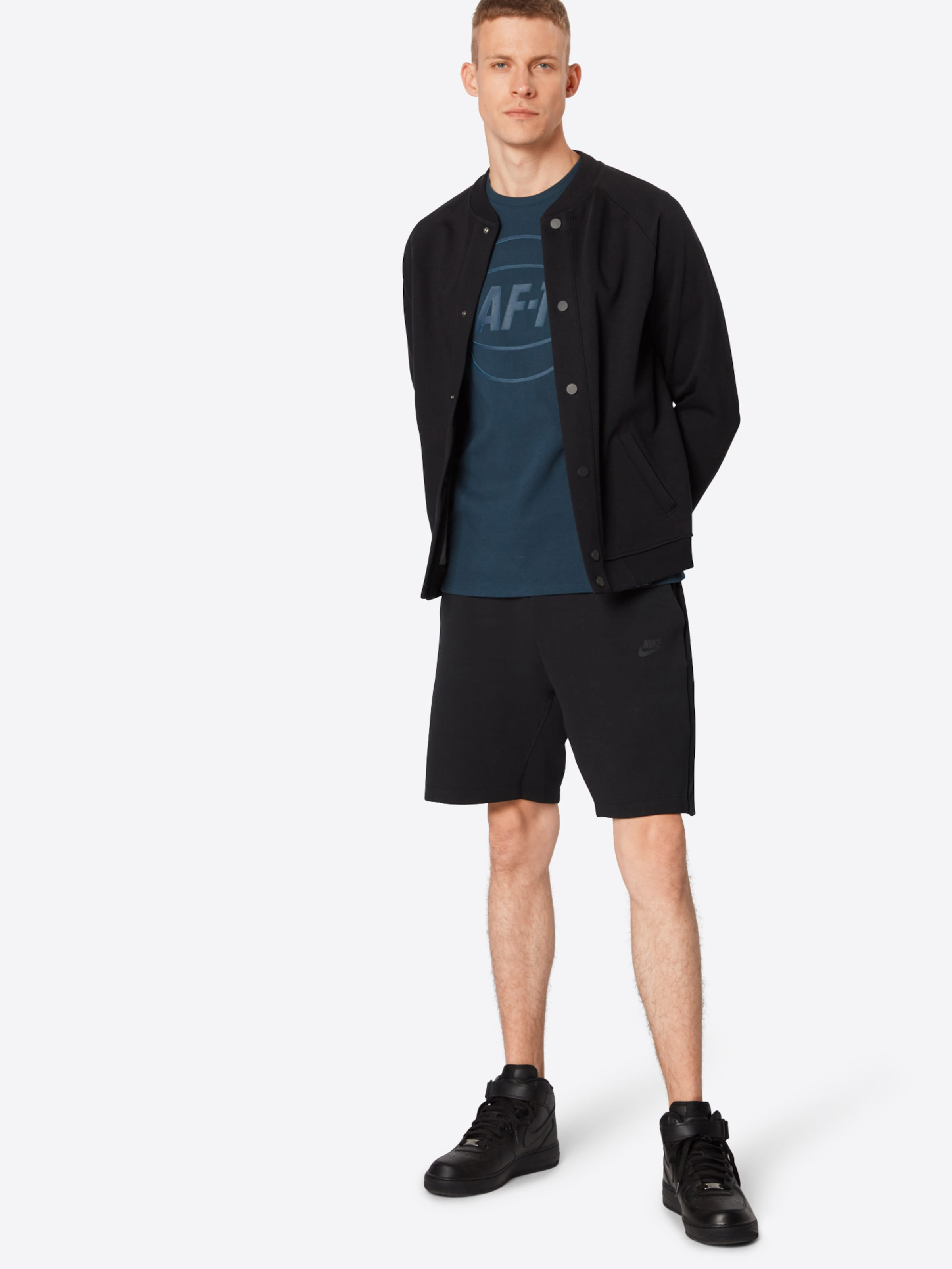 Sportswear 'tch Noir En Nike Pantalon Flc' sCtQrdh