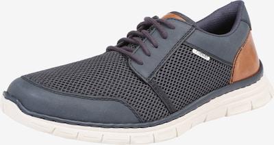 RIEKER Sneaker in enzian / braun, Produktansicht