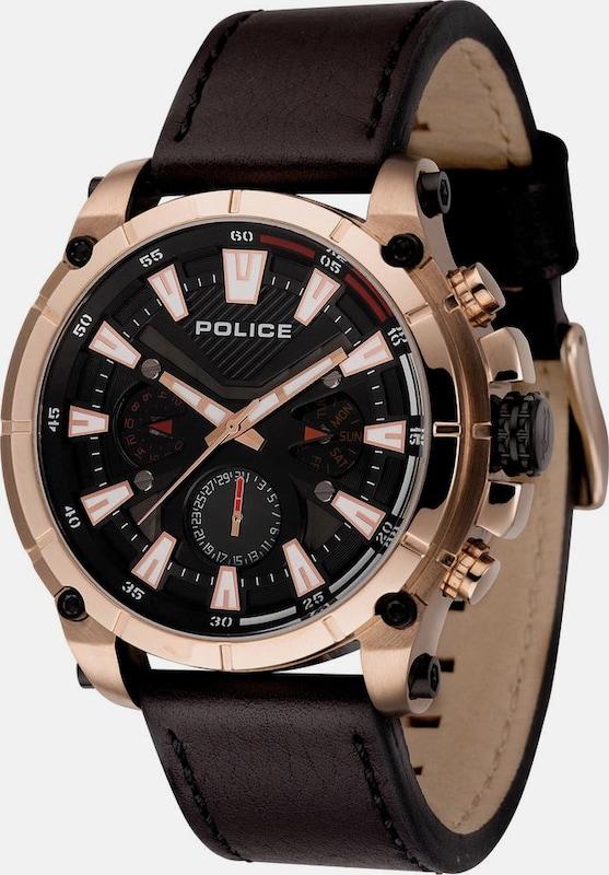POLICE Multifunktionsuhr 'OPERATOR, PL14832JSR.02'