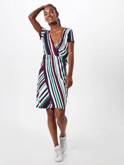 STREET ONE Kleid in nachtblau / jade / kirschrot / weiß, Modelansicht