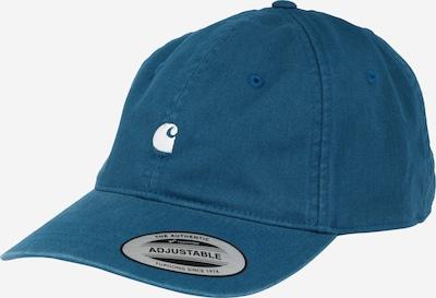 Carhartt WIP Cap 'Madison' in cyanblau / weiß, Produktansicht
