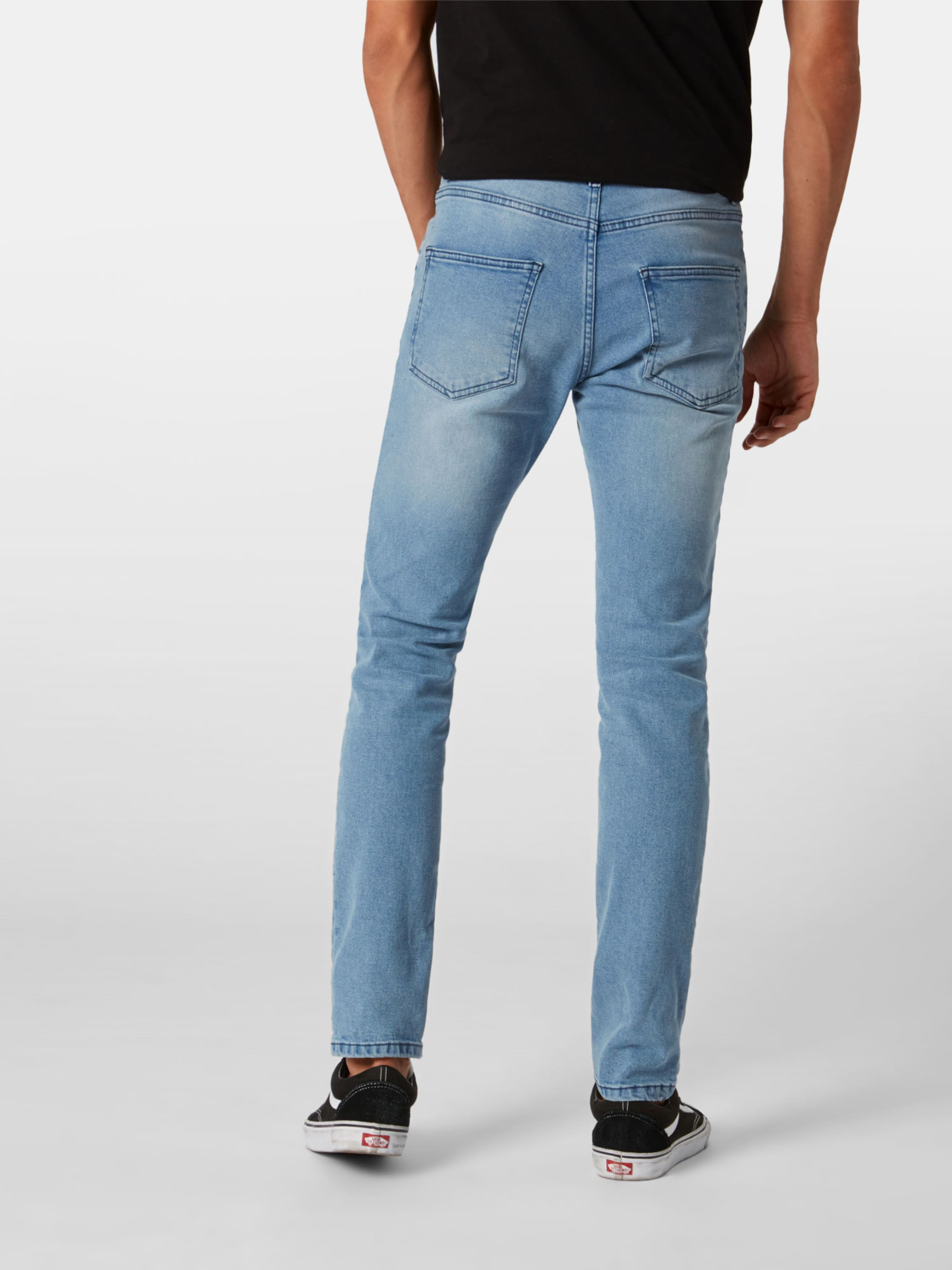 Jean En Denim 'crop Bleu Review Blu' DeWYH9E2I