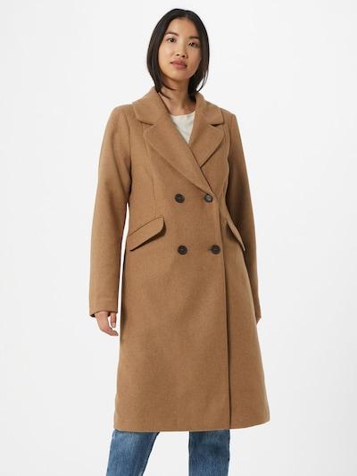 Palton de primăvară-toamnă ONLY pe maro cămilă, Vizualizare model