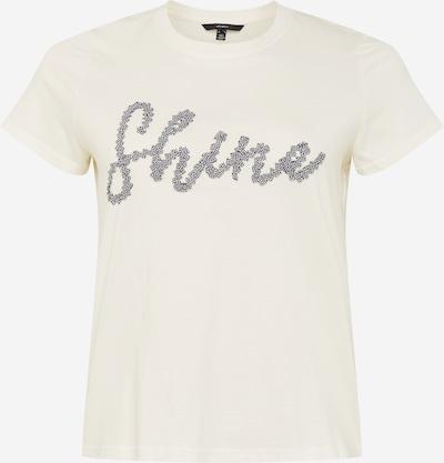 Vero Moda Curve T-Shirt 'Alana Francis' in schwarz / weiß, Produktansicht