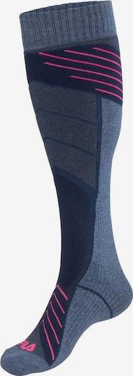 FILA Athletic Socks in Navy / Smoke blue, Item view