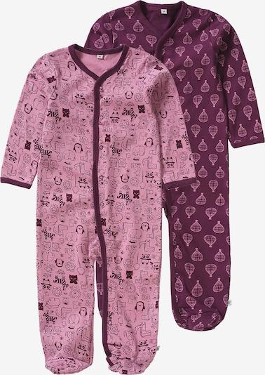 Pippi Schlafanzug in lila / cyclam / beere / eosin, Produktansicht