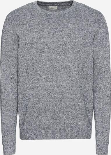 JACK & JONES Pulover 'JJEBASIC KNIT CREW NECK' | pegasto siva barva, Prikaz izdelka