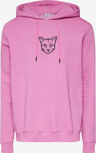 ABOUT YOU X PARI Hoodie 'Finnley' in pink / schwarz, Produktansicht