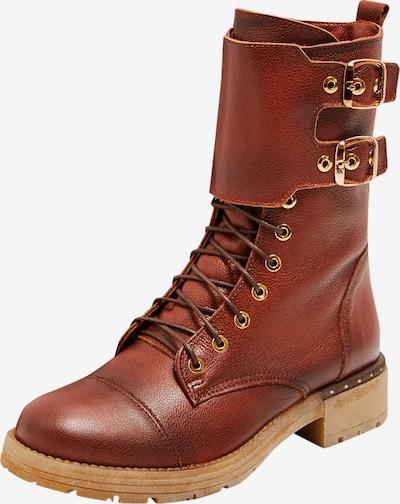 FELIPA Boots in cognac: Frontalansicht