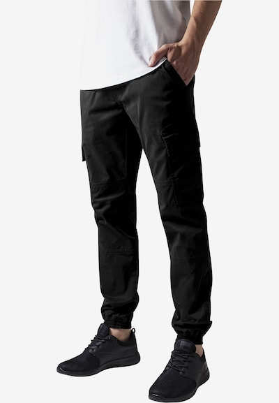 Urban Classics Cargo Pants in schwarz, Modelansicht