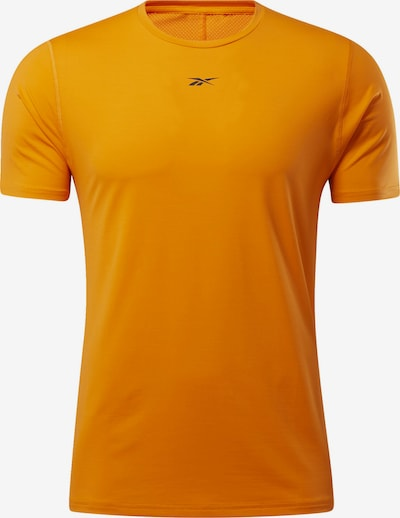 REEBOK T-Shirt in dunkelblau / orange, Produktansicht