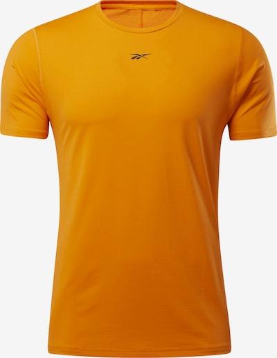 REEBOK Functioneel shirt in de kleur Donkerblauw / Sinaasappel, Productweergave