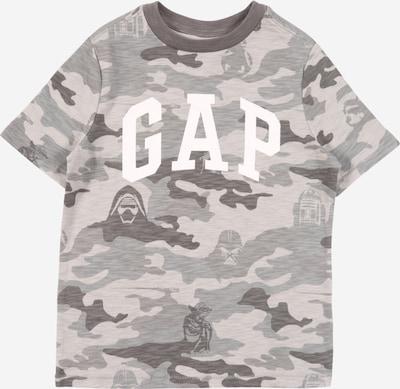 GAP Shirt 'CAMO ARCH' in grau: Frontalansicht