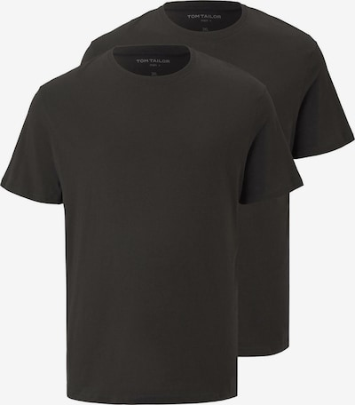 TOM TAILOR Men Plus T-Shirt in schwarz, Produktansicht