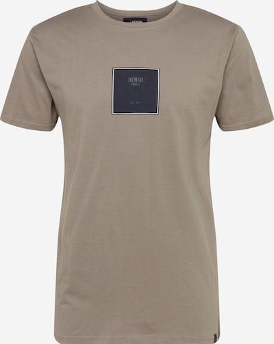 Denim Project Shirt 'Front S logo TEE' in de kleur Grijs, Productweergave