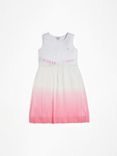 GUESS KIDS Kleid in gelb / neongrün / rosa / weiß, Produktansicht