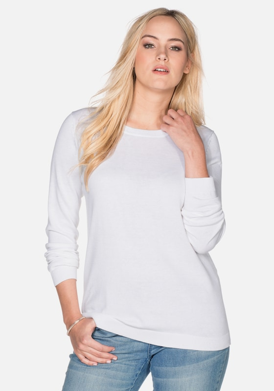 sheego casual Basic Pullover