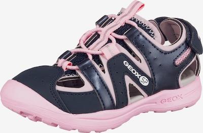GEOX Sandalen 'Vaniett Girl' in nachtblau / rosa, Produktansicht