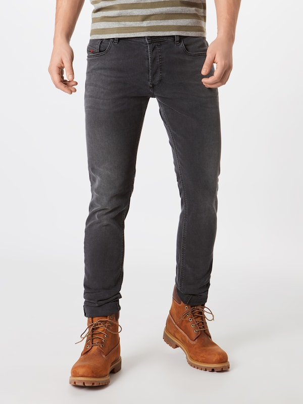 DIESEL Jeans 'Skinny Fit 886Z Sleenker' in grey denim, Modelansicht
