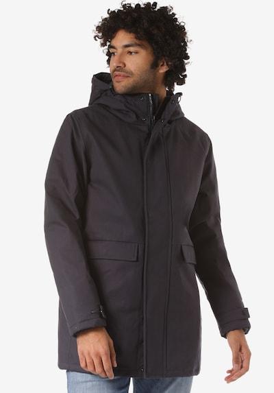 Forvert Manteau d'hiver 'Anc' en aubergine, Vue avec modèle