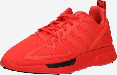 ADIDAS ORIGINALS Baskets basses 'ZX 2K Flux' en rouge, Vue avec produit