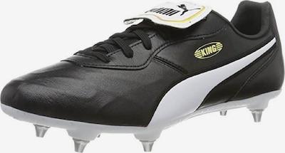 PUMA Fußballschuh 'King Top SG Low Boot' in gelb / schwarz / weiß, Produktansicht