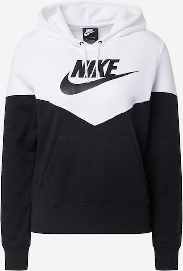 Nike Sportswear Sweatshirt in schwarz / weiß, Produktansicht