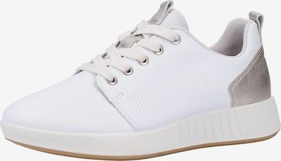 Legero Sneaker in silber / weiß, Produktansicht