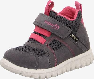 SUPERFIT Schuh in dunkelgrau / pink, Produktansicht