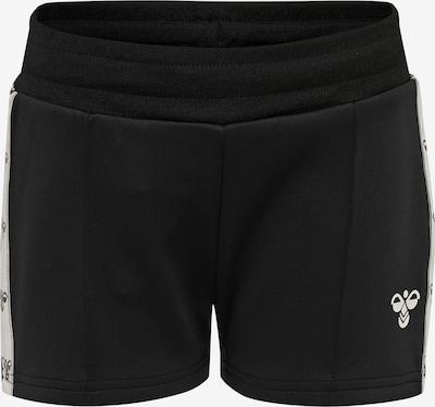Hummel Sportshorts in schwarz / weiß, Produktansicht