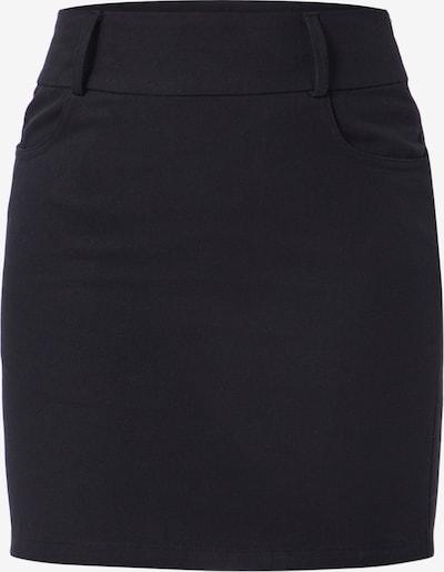 Sijonas iš Boohoo , spalva - juoda: Vaizdas iš priekio