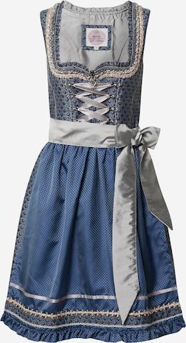 Rochițe tiroleze '013 Mirena' de la MARJO pe albastru