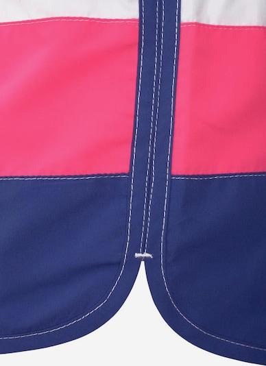 BENCH Badeshorts in blau / pink / weiß, Produktansicht