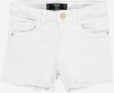 MANGO KIDS Jeans 'Patric' in de kleur Wit, Productweergave