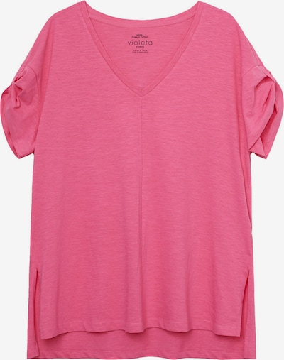 VIOLETA by Mango T-Shirt 'Carla' in pink, Produktansicht