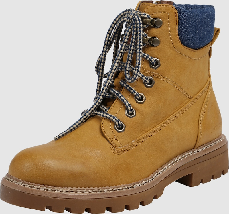 Anna Field Boot With Denim And Braid