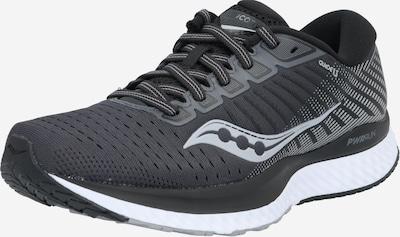 saucony Chaussure de course 'Guide 13' en noir / blanc, Vue avec produit