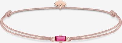 Thomas Sabo Armband 'Little Secret' in rosegold / pink / puder, Produktansicht