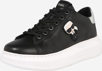 Sneaker low 'KAPRI' Karl Lagerfeld pe negru / alb, Vizualizare produs