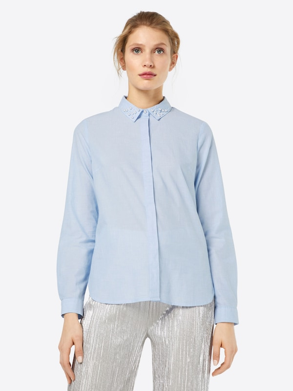 TOM TAILOR Bluse 'chambray'
