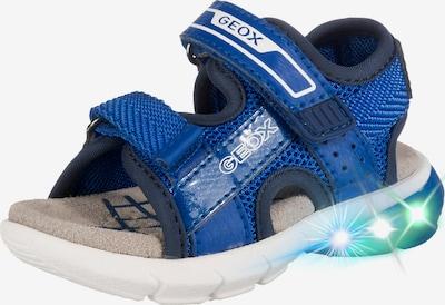 GEOX Sandalen 'Flexyper Boy' in blau / weiß, Produktansicht