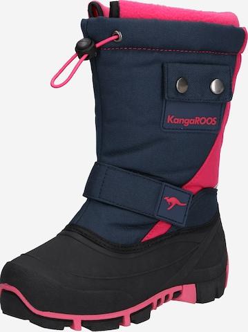 KangaROOS Snowboots 'Kanga-Bean II' in Blau
