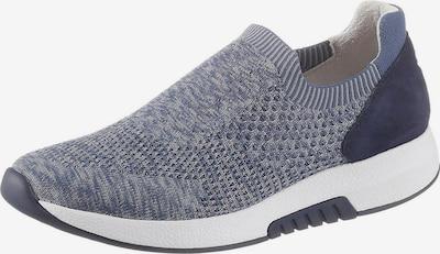 GABOR Keilsneaker in blue denim, Produktansicht
