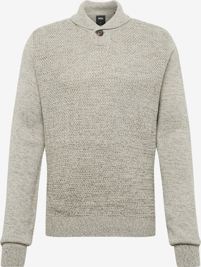 BURTON MENSWEAR LONDON Sveter 'purnell button shawl light grey' - sivá, Produkt