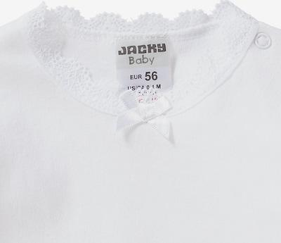 JACKY Langarmbody in weiß, Produktansicht