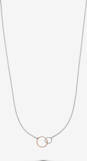 QOOQI Kette in gold / silber, Produktansicht