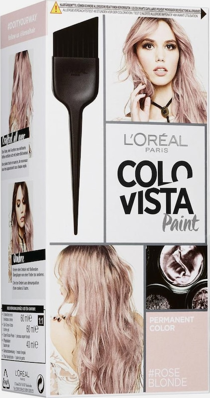 Loréal Paris peinture Permanente Colovista, Coloration