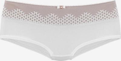 LASCANA Spodnje hlače | majnica / off-bela barva, Prikaz izdelka